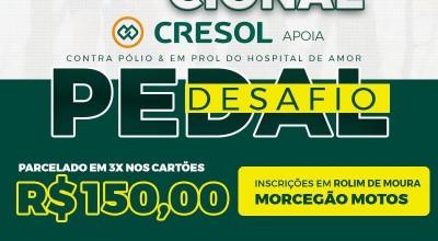 Rolim de Moura: Desafio do Pedal será dia 24 de Outubro