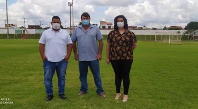 Vereador Eliomar Monteiro se reúne com equipe da Águas de Rolim para solicitar um Atendimento Itinerante no Distrito de Nova Estrela