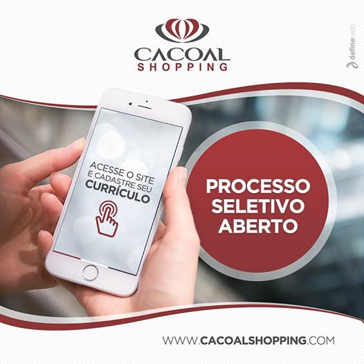 Cacoal Shopping abre cadastro de currículos através do site
