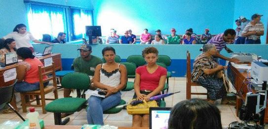 Justiça Eleitoral faz plantão especial em Parecis para cadastramento biométrico
