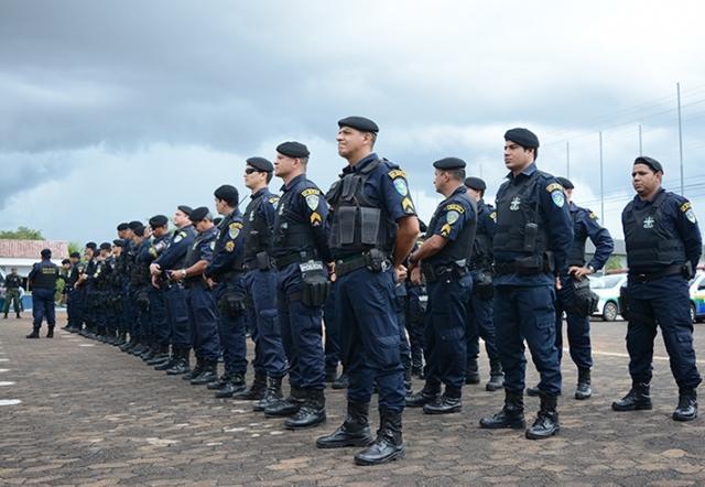 Megaoperação Tiradentes mobiliza 1.190 policiais nas ruas em todo o estado de Rondônia