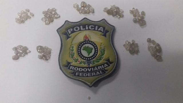 Homem que saiu de Vilhena é preso em Goiás com R$ 900 mil em diamantes