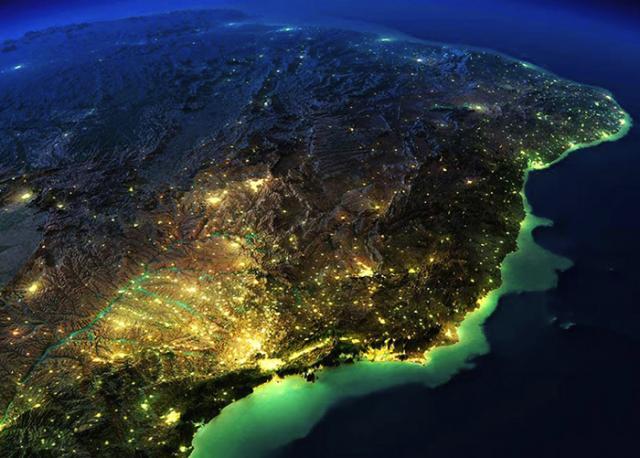 Mais de 80% da população brasileira habita 0,63% do território nacional