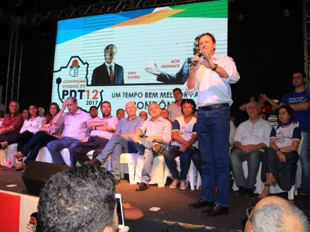 Acir é reconduzido na presidência do PDT em Rondônia