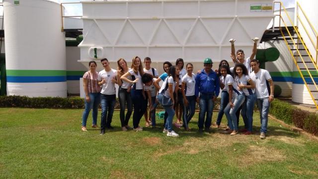Estudantes de Rolim de Moura visitam Estações de Tratamento de Água e aprendem sobre o consumo consciente