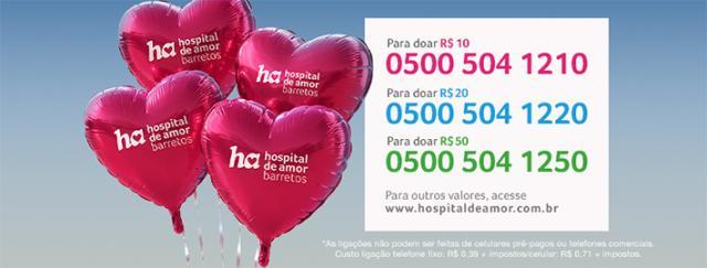 Hospital de Câncer de Barretos muda o nome para Hospital de Amor e lança nova campanha