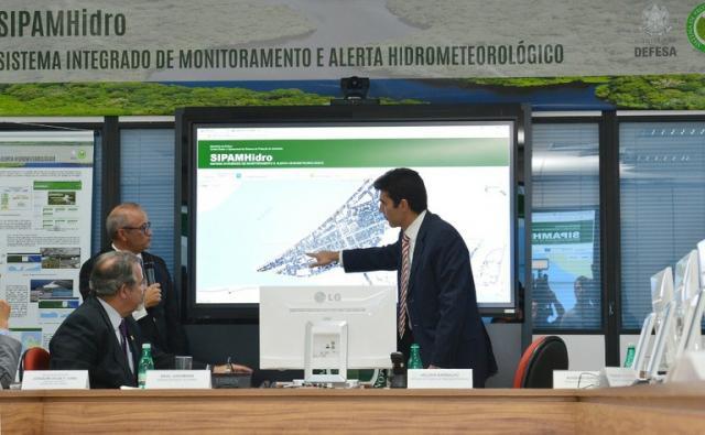 Sipam vai mostrar dados sobre enchentes nas cidades e cheias em rios em tempo real