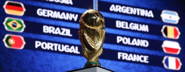 Brasil descobre os adversários da fase de grupos da Copa