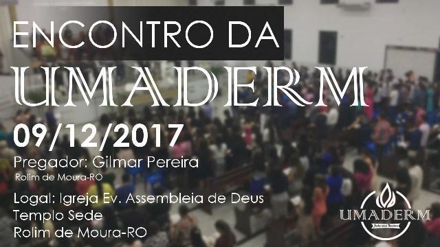 Encontro Geral da UMADERM é neste sábado, 09