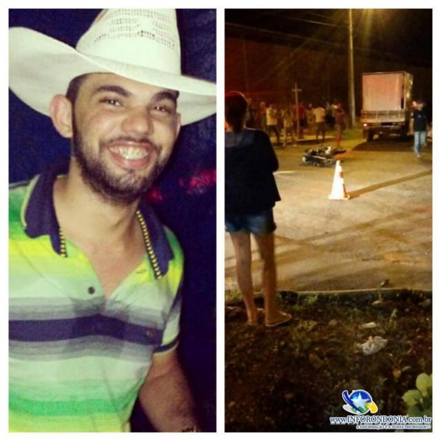 Jovem morre vítima de acidente em Nova Brasilândia