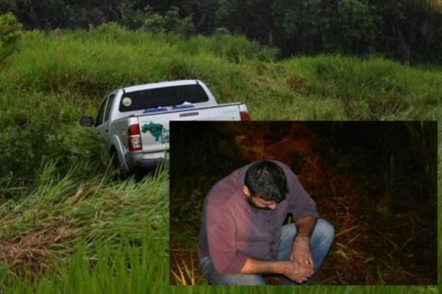 Prefeito de Costa Marques e três servidores sofrem acidente na BR-429