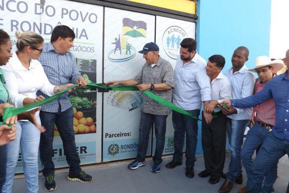 Banco do Povo de inaugura posto de atendimento em São Felipe do Oeste