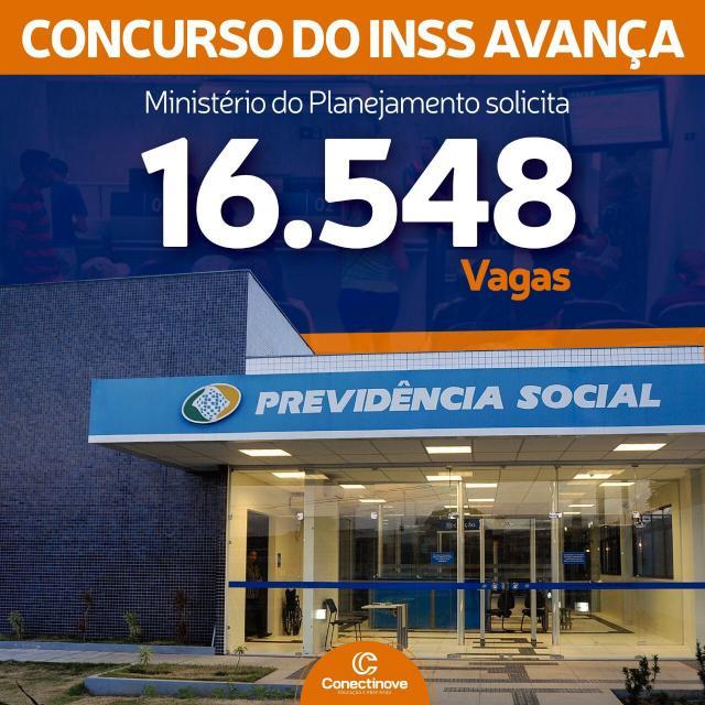Concurso do INSS avança no Ministério do Planejamento e 16.548 vagas são solicitadas