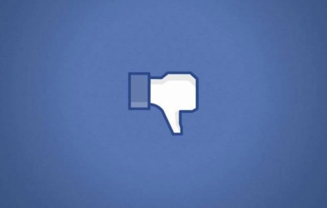 Facebook começa a testar botão 'não curtir' para comentários