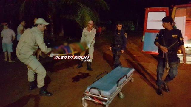 Homem é morto a tiros na avenida Paraná no bairro Beira Rio, em Rolim de Moura
