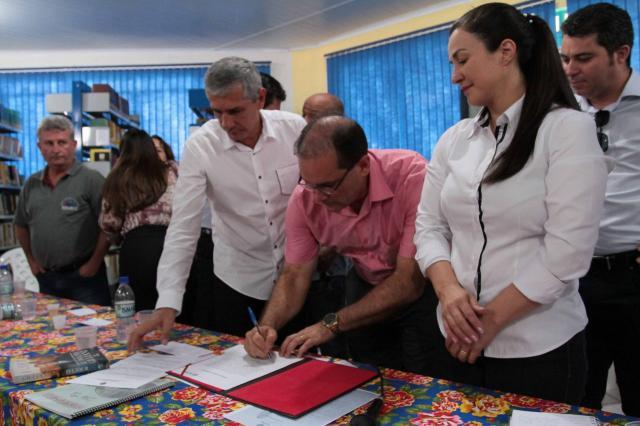 Vilhena firma acordo para receber dois mil atletas no Jogos Intermunicipais de Rondônia