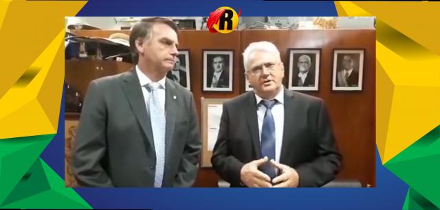 Ao lado de Bolsonaro, empresário rolimourense Zé Jodan lança pré candidatura ao governo de Rondônia
