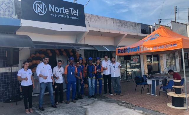 Norte Tel/Rolim Net inaugura mais uma filial