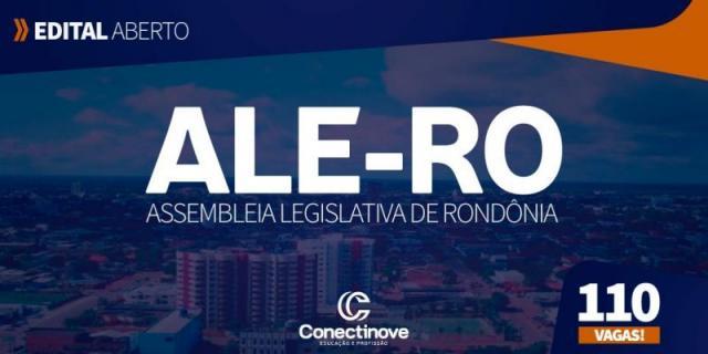 Inscrições do concurso da ALE-RO vão até o dia 4 de julho
