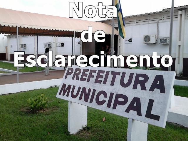 Prefeitura de Rolim de Moura Nota de Esclarecimento sobre o funcionamento do Feirão do Produtor