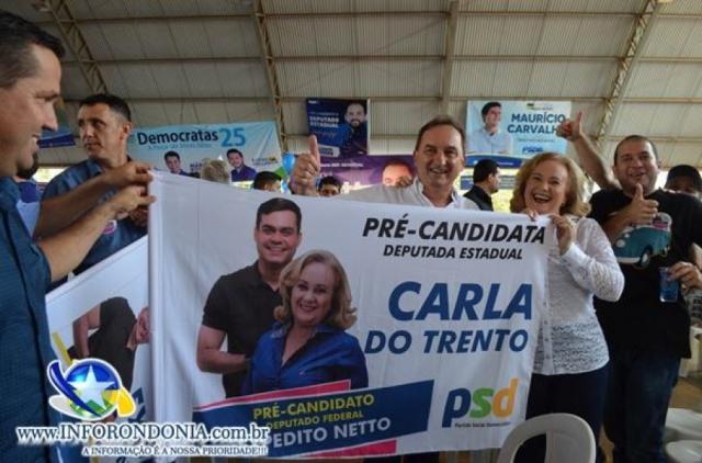 PSD confirma candidatura de Carla do Trento a deputada estadual durante convenção