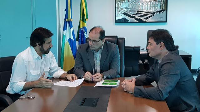 Raupp pede apoio do governador para implantação do Polo Industrial de Porto Velho