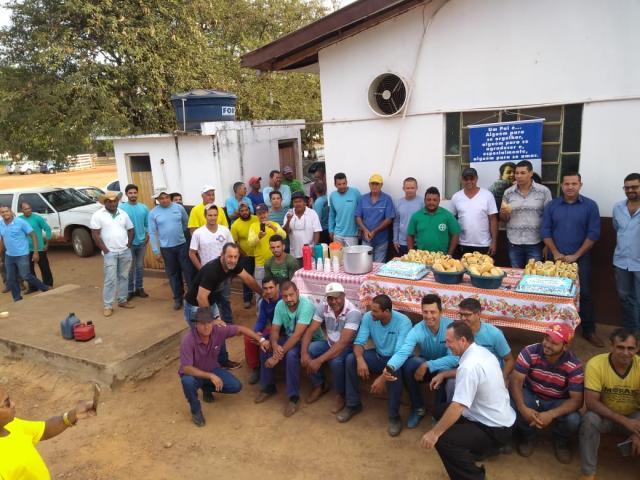 Rolim de Moura – Pais da Secretaria Municipal de Obras são homenageados