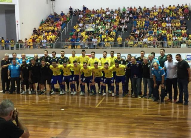 """Brasil e Argentina ficam no empate no """"Desafio das Américas"""""""