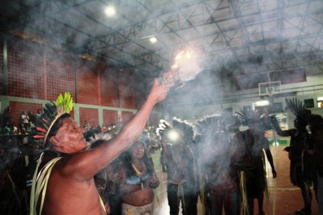 00c98ac509 Atletas de 12 aldeias participam dos primeiros Jogos Indígenas de Rondônia