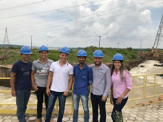Faculdade São Paulo promove visita técnica de acadêmicos de Engenharia Civil à Usina Santo Antônio