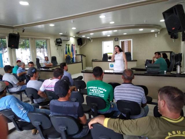 Sebrae incentiva a regularização de prestadores de serviços em Santa Luzia d'Oeste