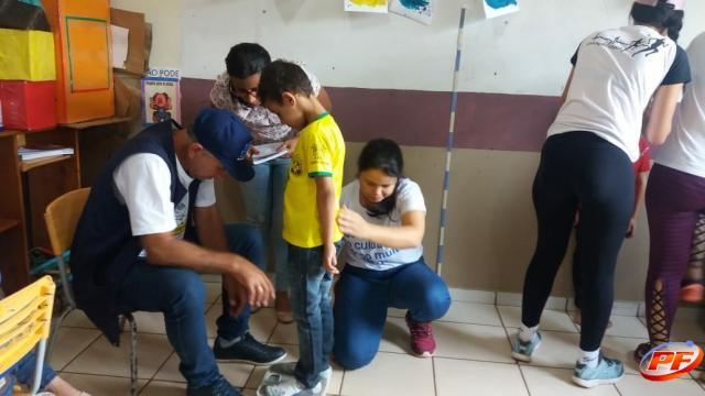 Município de Rolim de Moura desenvolve Programa Saúde na Escola