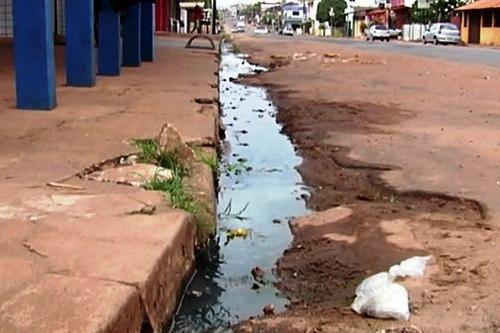 Rondônia  tem pior índice de coleta de esgoto do país