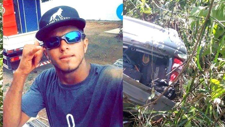 Morador de Rondônia, rapaz de 19 anos morre após carro capotar e despencar em ribanceira no Mato Grosso