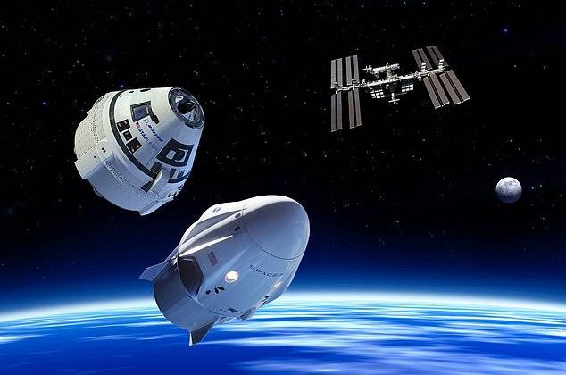 Nave da SpaceX passa em testes na ISS e astronautas devem voltar em de agosto