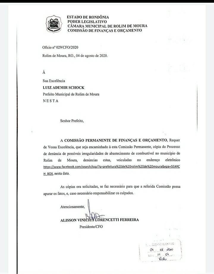 Dr. Lauro Lopes, recebe com surpresa e indignação nota divulgada em coletiva de imprensa por parte do Prefeito Municipal.