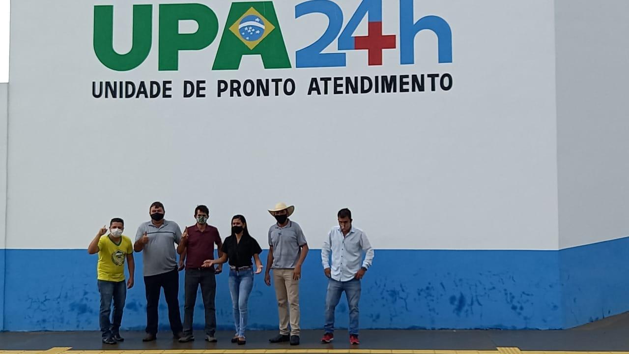 Vereadores eleitos visitam prefeito Fabrício Melo e pedem abertura da UPA e do CEO