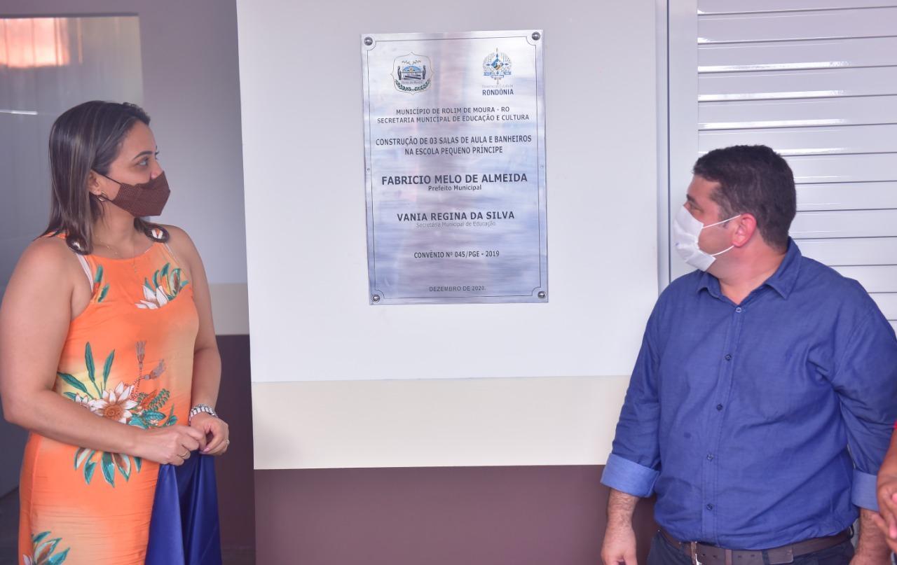 Escola Pequeno Príncipe de Nova Estrela é ampliada e ganha banheiros com acessibilidade