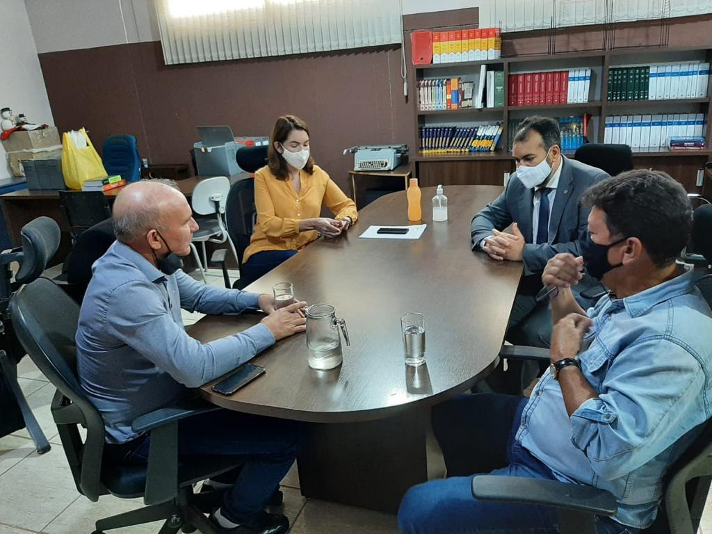 Deputado Estadual do PTB, Ezequiel Neiva, visita membros do PTB de Rolim de Moura nesta sexta-feira (5)