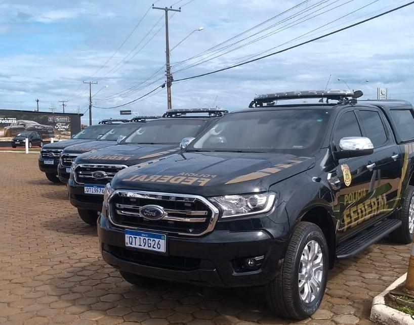 Polícia Federal em Rondônia recebe quinze novas viaturas ostensivas