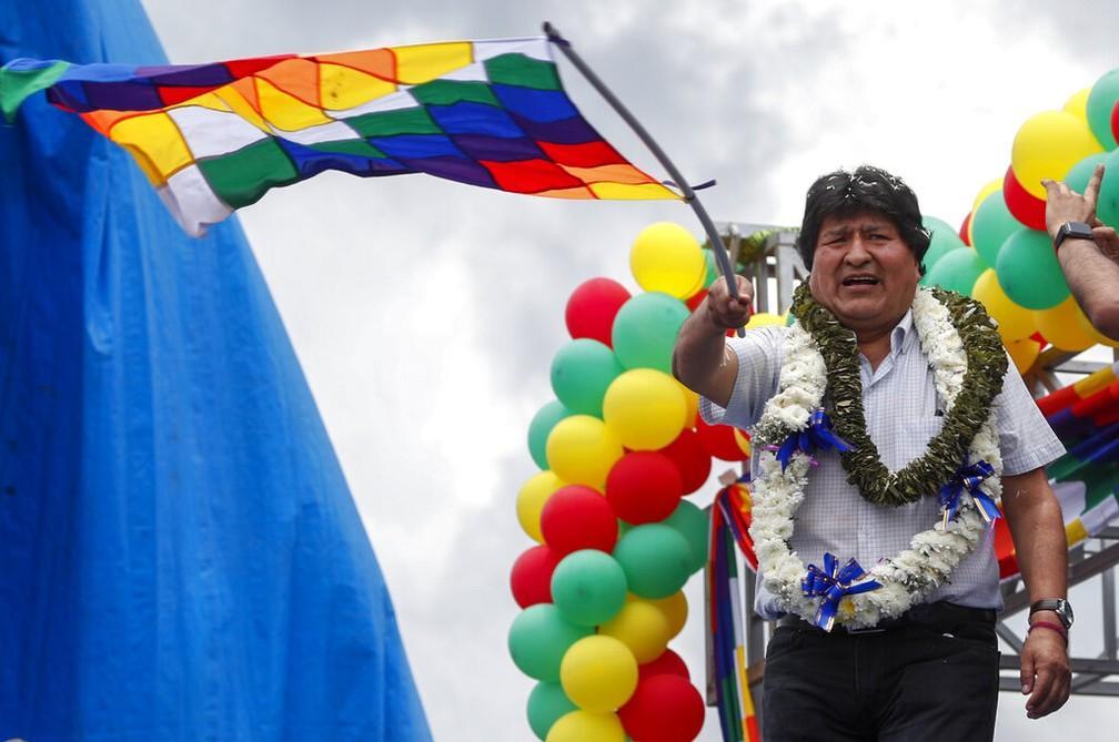 Ex-presidente boliviana é presa