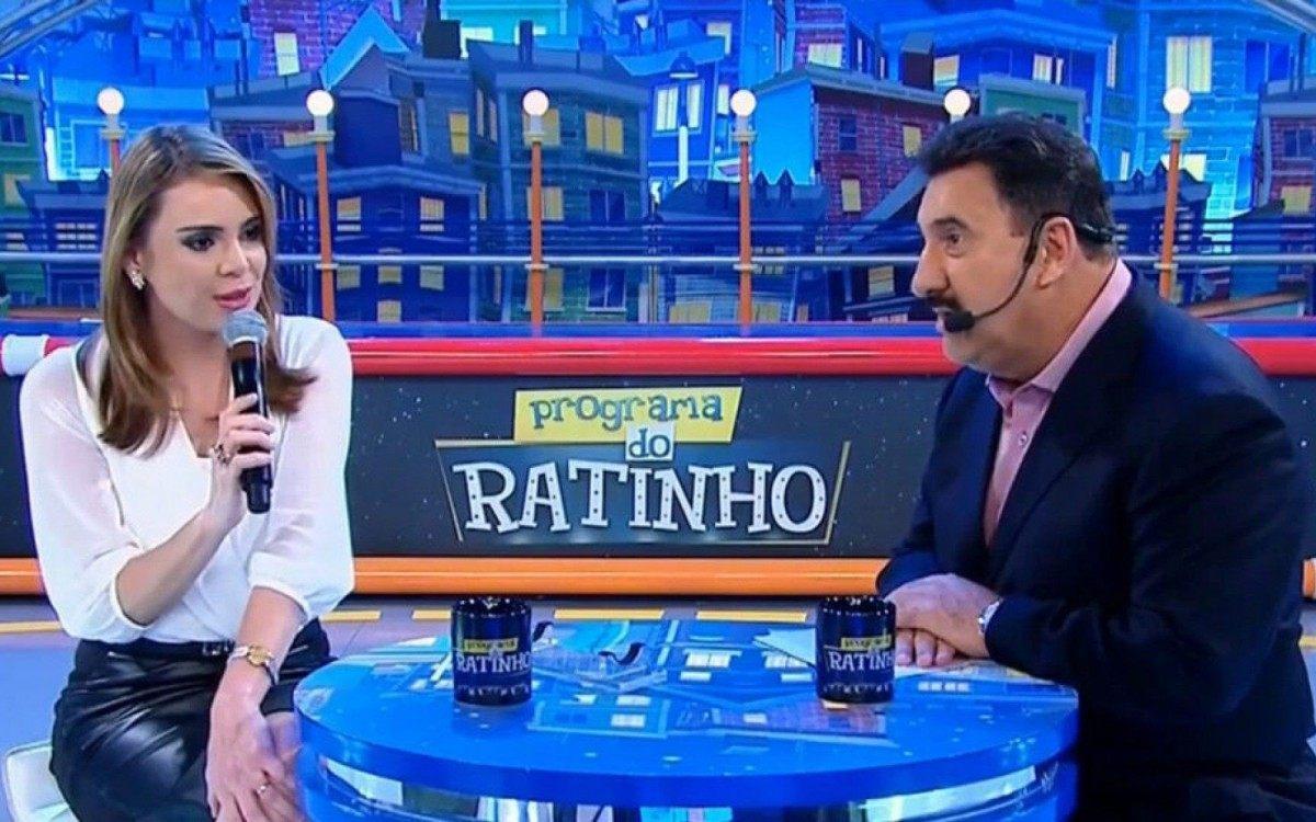 Ingrata', diz Ratinho sobre Rachel Sheherazade ter processado SBT