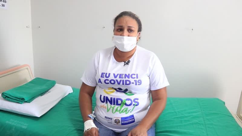 Mulher de 29 anos que chegou intubada em Rondônia é a primeira a voltar com vida para Mato Grosso do Sul