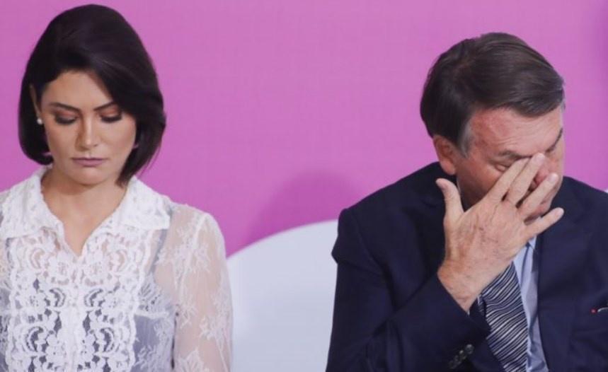 Michelle e Jair Bolsonaro atravessam crise no casamento