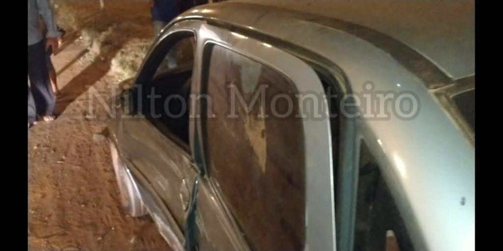 Acidente entre carros é registrado pela PRF em Pimenta Bueno