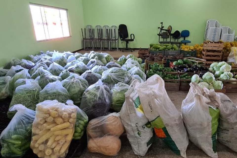 O Governo de Rondônia auxilia produtores a participarem de chamada pública do Exército para compra de alimentos da Agricultura Familiar