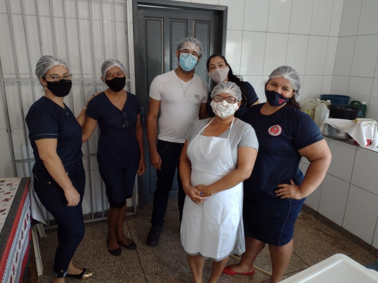 Direção do Colégio Tiradentes de Rolim de Moura faz evento para recepcionar os profissionais que atuam na unidade