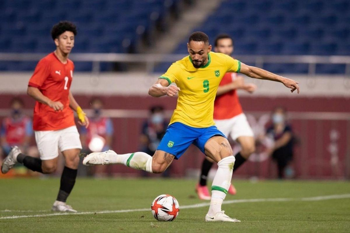 Brasil vence Egito e vai à semifinal