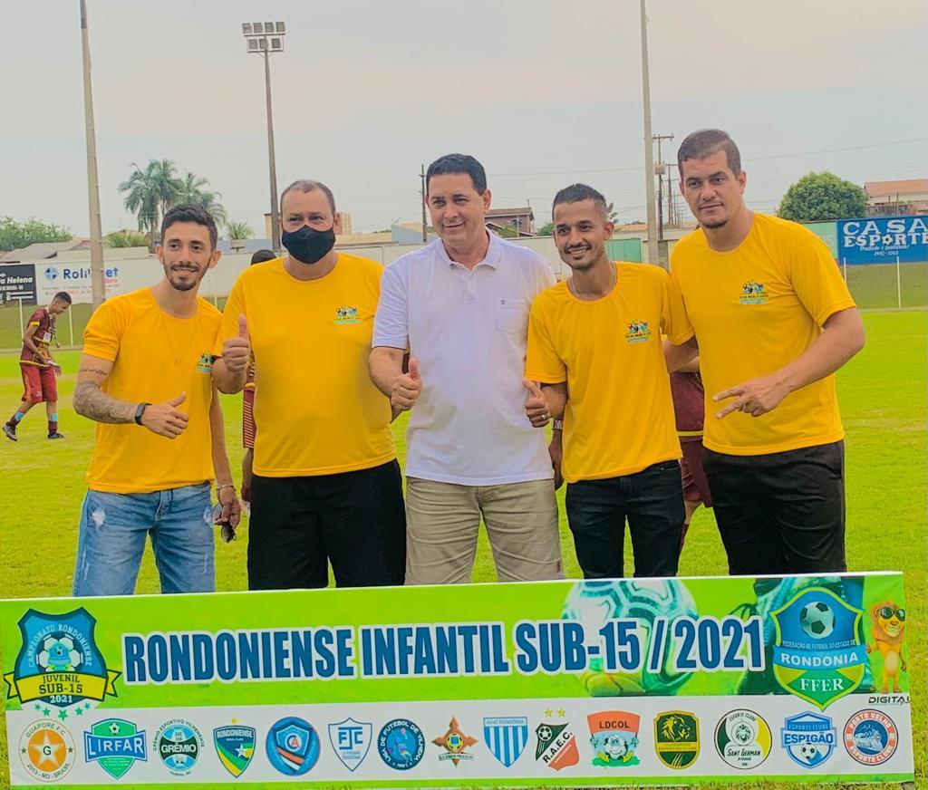 FUTEBOL: Campeonato SUB-15 foi sucesso em Rolim de Moura e município será contemplado com projeto CBF Social